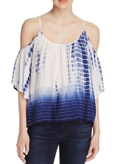 FRENCH CONNECTION Holiday Cold-Shoulder Top