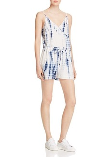 FRENCH CONNECTION Holiday Tie-Dye Romper