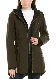 French Connection Hooded Trench Coat