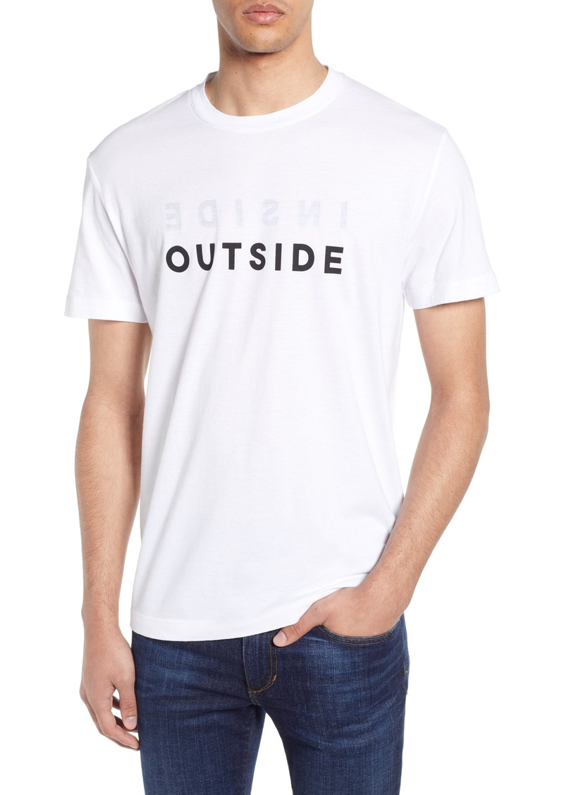 French Connection Inside Outside T-Shirt