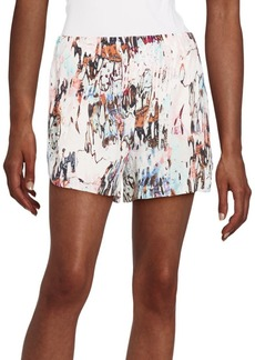French Connection Isla Ripple Printed Shorts