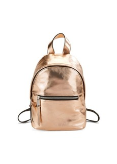 French Connection Jace Metallic Mini Backpack