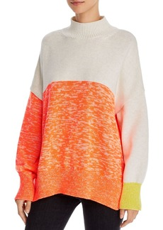 FRENCH CONNECTION Joelle Oversized Color-Blocked Sweater