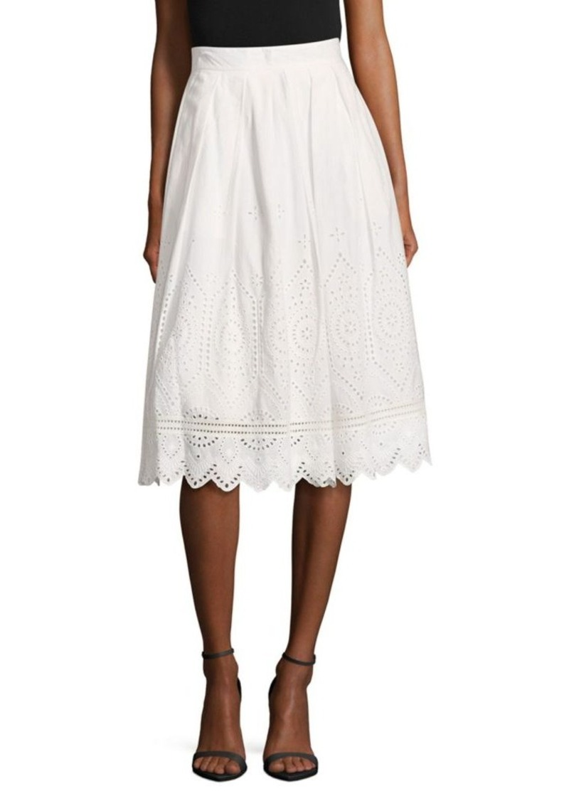 66d17180b6 French Connection French Connection Josephine Cotton Midi Skirt