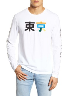 French Connection Kanji Long Sleeve T-Shirt