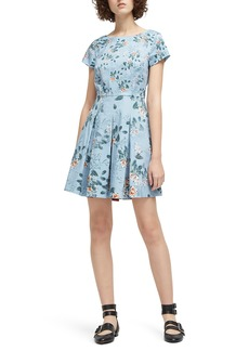 French Connection Kioa Fit & Flare Dress