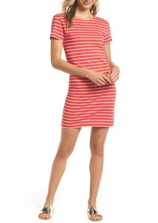 French Connection Knit Stripe Body-Con Dress