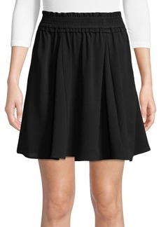French Connection Komo Drape Solids Skirt