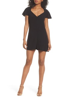 French Connection Kozani Drape Romper