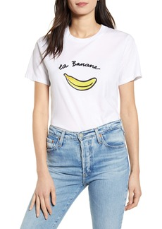 French Connection La Banane Graphic Tee