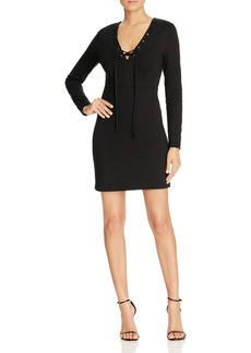 FRENCH CONNECTION Lace-Up Dress - 100% Bloomingdale's Exclusive