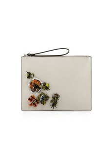 French Connection Lara Embellished Wristlet Clutch Bag