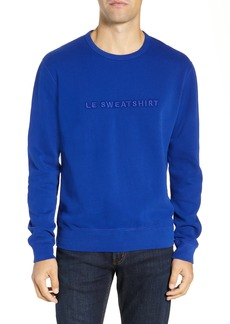 French Connection Le Sweatshirt Regular Fit Embroidered Sweatshirt