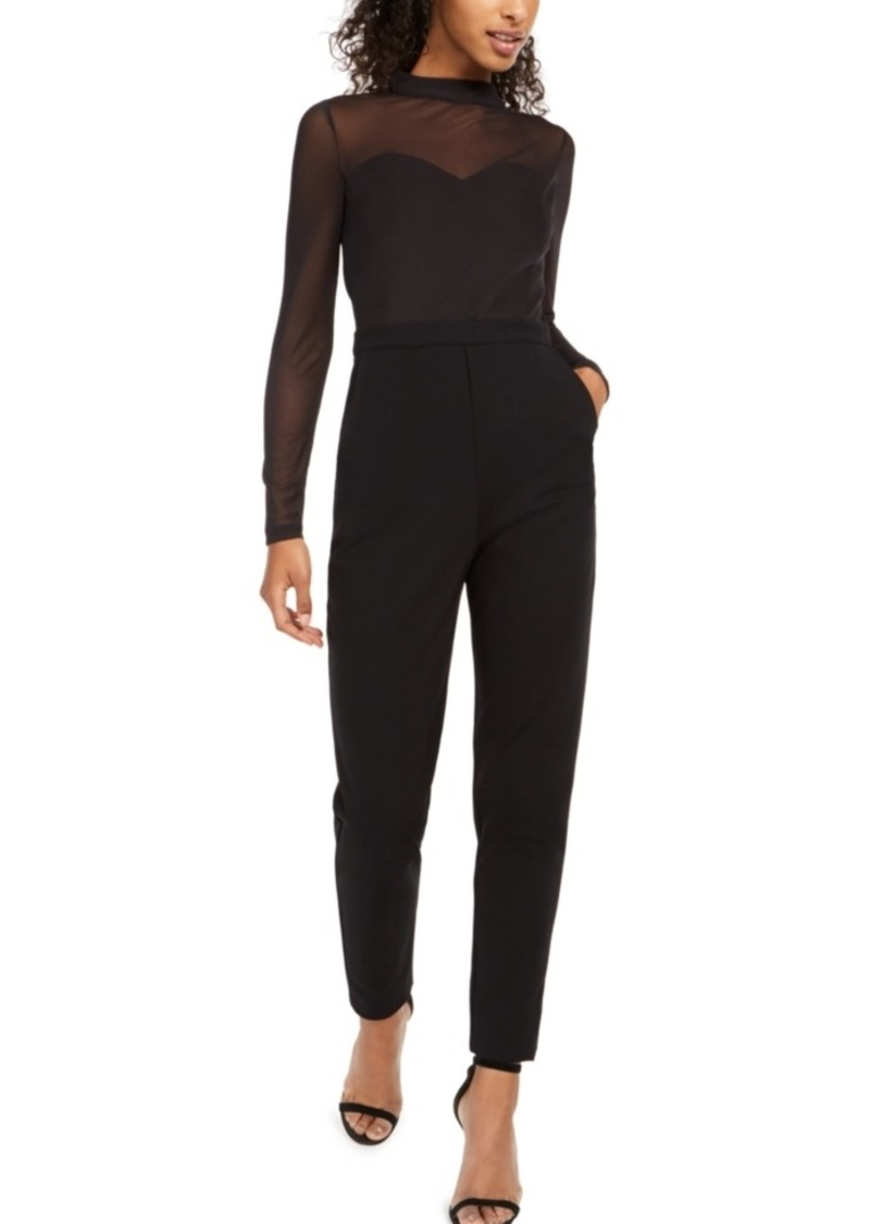 French Connection Leah Illusion Jumpsuit