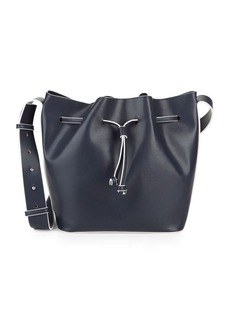 French Connection Leather Bucket Bag