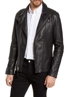 French Connection Leather Moto Jacket