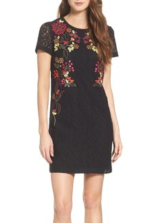 French Connection Legere Embellished Sheath Dress