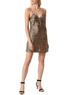 French Connection Leopard Print Slipdress