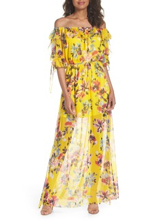 French Connection Linosa Crinkle Maxi Dress