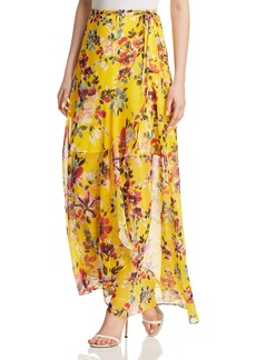 FRENCH CONNECTION Linosa Floral-Print Wrap Skirt