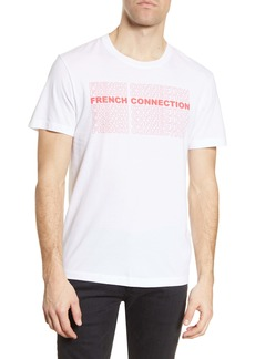 French Connection Logo Repeat Graphic Tee