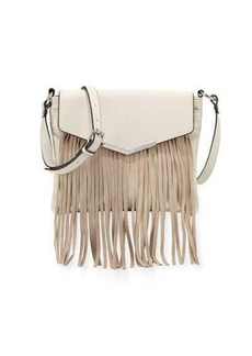 French Connection Lola Crossbody Bag with Suede Fringe