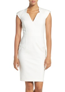 French Connection 'Lolo' Stretch Sheath Dress