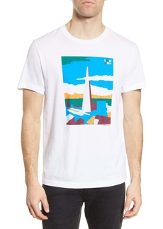 French Connection London Landmark Graphic Tee