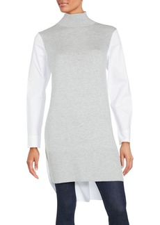 French Connection Long Sleeve Hi-Lo Tunic