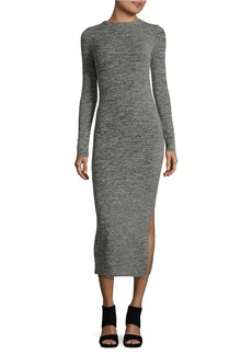 FRENCH CONNECTION Long Sleeved Midi Sweater Dress