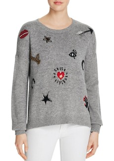 FRENCH CONNECTION Lucky Knits Embellished Sweater
