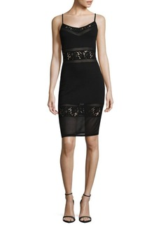 French Connection Lucky Layer Bodycon Dress