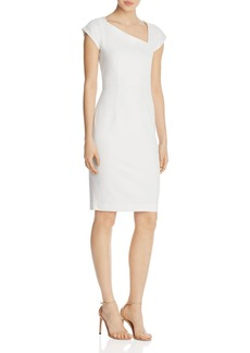 FRENCH CONNECTION Lula Asymmetric Sheath Dress