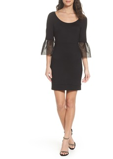 French Connection Lula Bell Sleeve Body-Con Dress