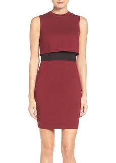 French Connection 'Lula' Colorblock Popover Dress