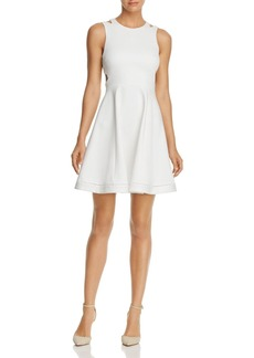FRENCH CONNECTION Lula Cutout Fit & Flare Dress