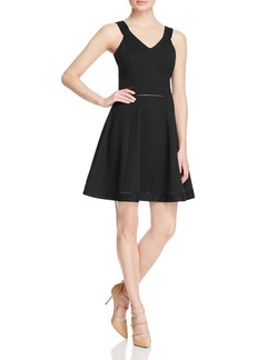 FRENCH CONNECTION Lula Fit-And-Flare Dress
