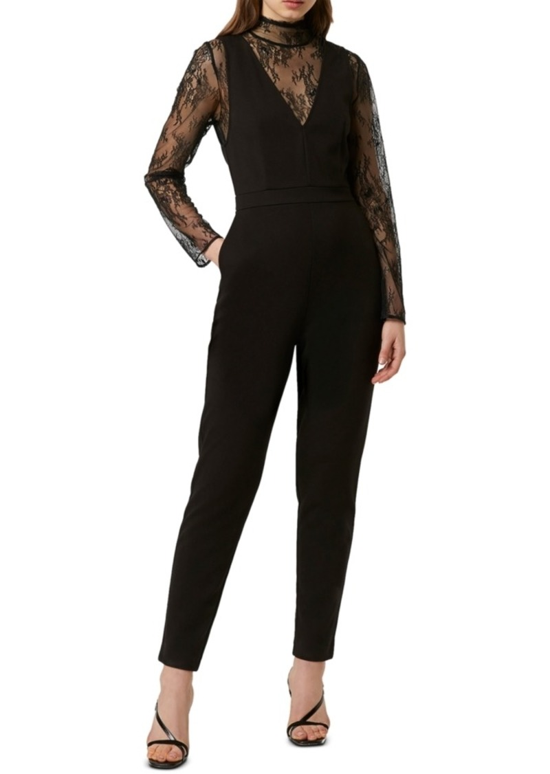 French Connection Lula Lace Jumpsuit