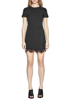 French Connection 'Lula' Lace Trim A-Line Dress
