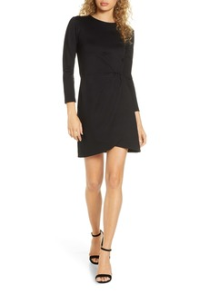 French Connection Lula Long Sleeve Tulip Dress