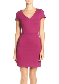 French Connection 'Lula' Ponte Sheath Dress
