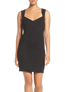 French Connection 'Lula' Stretch Body-Con Dress