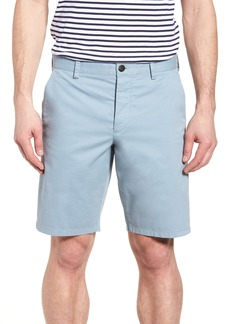 French Connection Machine Gun Stretch Cotton Shorts