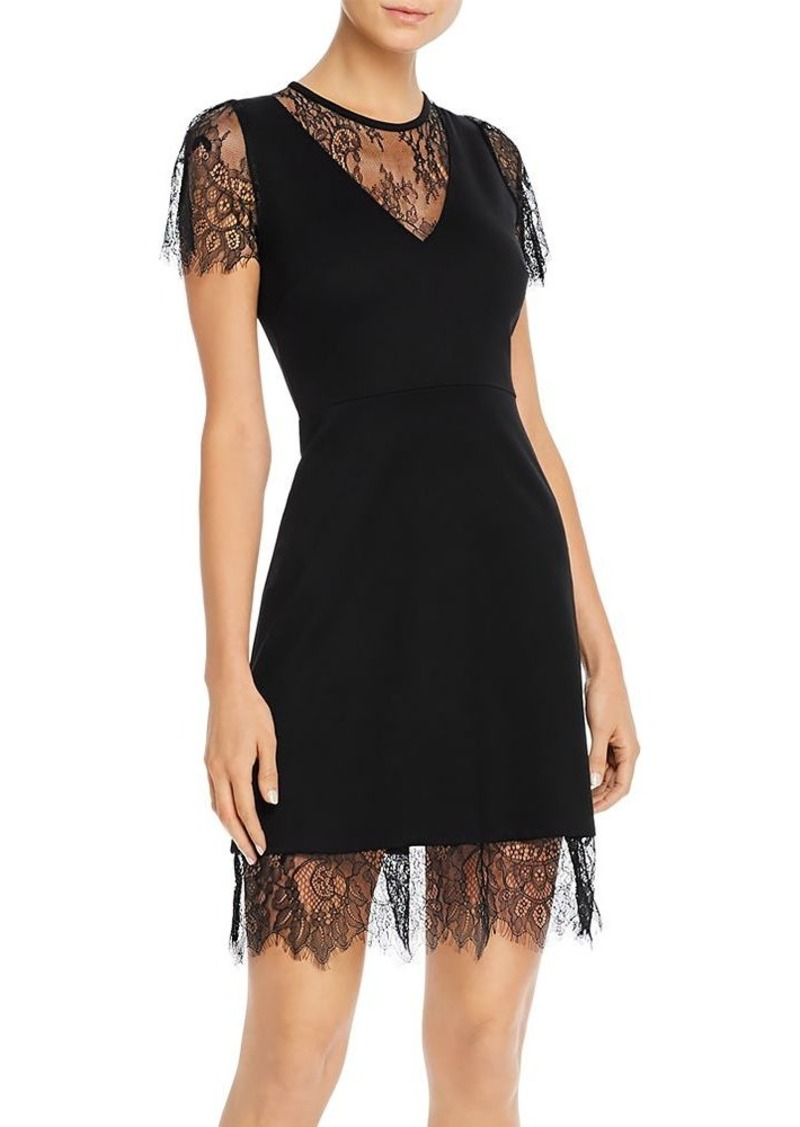 FRENCH CONNECTION Madalyn Lula Lace-Detail Mini Dress