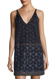 French Connection Madeline Mosaic-Beaded Dress