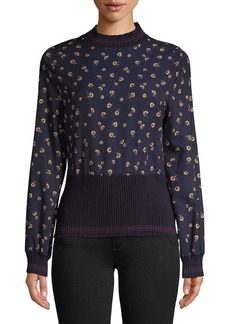 French Connection Mahi Printed Sweater
