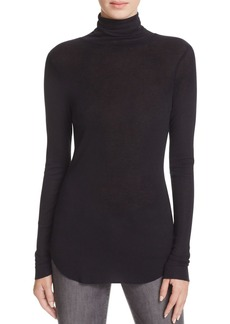 FRENCH CONNECTION Marian Slub Turtleneck Top