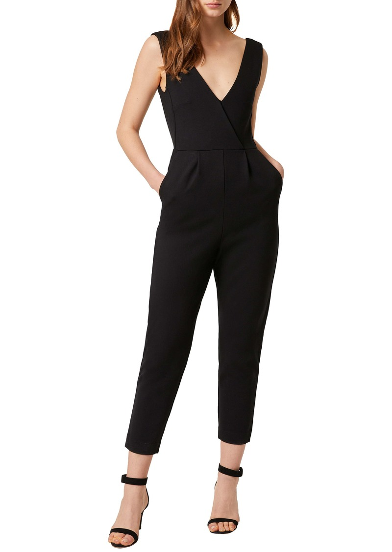 French Connection Marie Surplice Jumpsuit