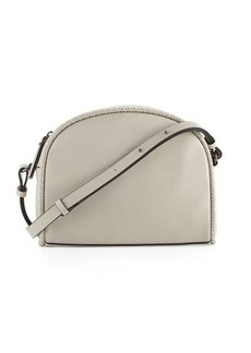 French Connection Marlee Halfmoon Stitched Crossbody Bag