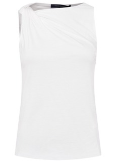 French Connection Mati Drape-Neck Top